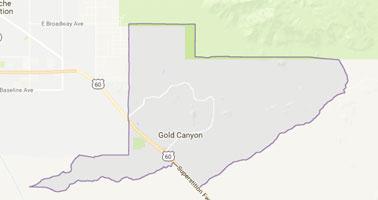 Gold Canyon appraisal service area