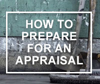 prepare for appraisal