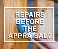 repairs needed before home appraisal